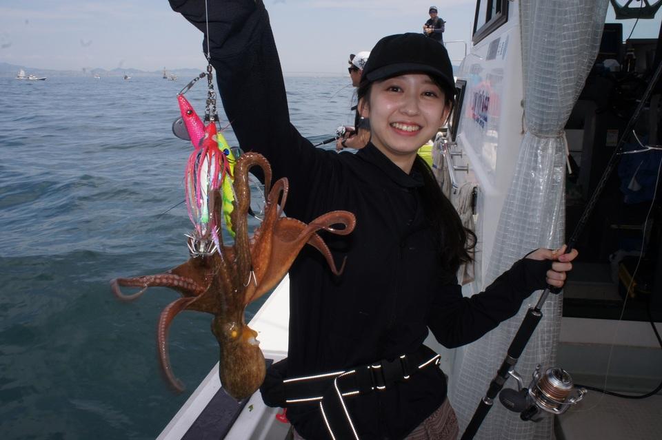 タコの釣果など 2018年6月3日 Bon Voyage(兵庫県/荒井漁港)