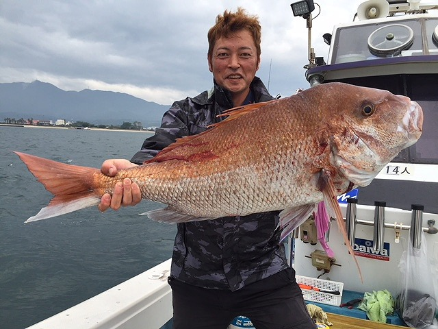 【OZ Fishing Club】横山船長